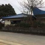 谷川製麺所 - 左の建物が谷川さん