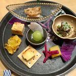 お気軽和食 CLOUD9 - お料理4000円のコース ①前菜(単品のお通しと同じ)