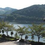 784478 - 阿木川ダム湖 資料館の方からの眺め