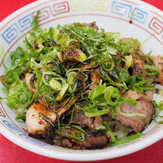 新福菜館 - 料理写真:まかない丼