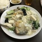 78401583 - H29.12 今週のCランチ 海鮮豆腐煮込み
