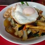 大羊飯店 - 肉ナス炒め
