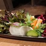 78404176 - 突き出しの野菜