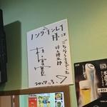 ノング インレイ - ノング インレイ(東京都新宿区高田馬場)松重豊さんのサイン