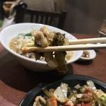 ノング インレイ - ノング インレイ(東京都新宿区高田馬場)シャン風高菜炒め(豚・鶏)