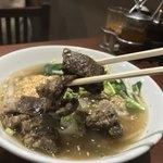 ノング インレイ - ノング インレイ(東京都新宿区高田馬場)牛スープそば(高菜付き)