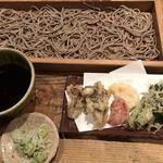 78406761 - 細野菜の天ぷらそば切り