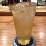六本木 きわみ鶏 - 2杯目 梅酒ソーダ割り