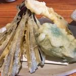 Kachoufuugetsu - 野菜の天ぷらです。