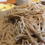 Kachoufuugetsu - 蕎麦のアップです。