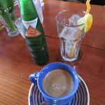 Cafe Winds - ジンジャーエール、カフェラテ