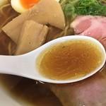 麺屋 169 - スープ(松坂屋上野店「北海道物産展」)