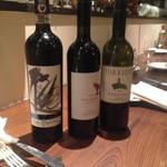 トスカネリア - ワインも色々揃っています。