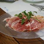 ピッツェリア パドリーノ・デル・ショーザン - イタリア産生ハムサラミの5種盛合せ