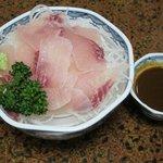 川魚 やまだ - やまだ_鯉のあらい<2011.05.14>¥500