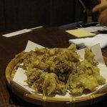 居酒屋 まんま - 舞茸の天ぷら