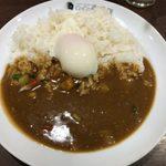 78411162 - 「朝カレー半熟タマゴセット」438円