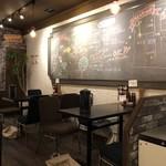 麺道 しゅはり - 店内