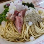 中華蕎麦 みうら - 和え玉(ハーフ150円)