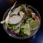 Herbal Spice Kitchen - ランチのバーベキューセットのサラダ