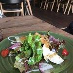 ハレヤ食堂 - 料理写真:プレートランチのサラダ。
