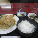 かわ乃 - 料理写真:生姜焼き定食