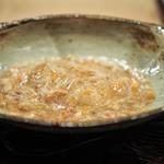 虎白 - 凌ぎ 香箱蟹の飯蒸し