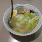 78414348 - 五目ラーメン(塩味)(750円)