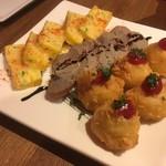 大衆ワイン酒場キッシュキッシュ - 3種の前菜
