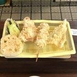 だるまの天ぷら定食 -