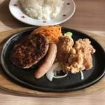 ステーキのどん - 料理写真:H29.12 日替わりランチ