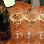 ガネーシュ - スパークリングワイン(3148円・外税)