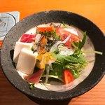 78420572 - 京豆腐と生ハムサラダ!