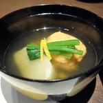 78420598 - 蕪と桜海老のしんじょ(藤 一汁三菜)