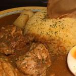 Diletto Curry Via - 辛さは5でした。美味しく食べるなら3くらいが良いかも