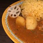 Diletto Curry Via - レンコンも入っています