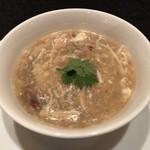 78425016 - 国産牛フィレ肉とえのき茸入りスープ