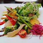 ビストロカフェ Repos - 料理写真:サラダ [パエリヤコース]