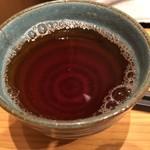 京もつ鍋 亀八 - 京都宇治茶の老舗の中尾園のお茶