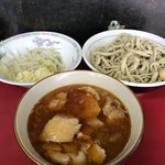 蓮爾 - 【2017.12.16】小つけ麺豚入り¥1000