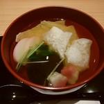 京茶房 鶴 - お雑煮