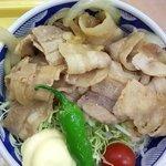ピーターパンエクスプレス&えびすだこ - 生姜焼き丼