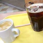 ピーターパンエクスプレス&えびすだこ - コーヒー、なかなか美味しいョ♬