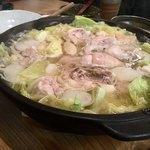 粋季 - 鶏肉のぶつ切り水炊き