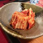 焼肉のすゞき - 白菜キムチ