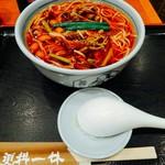 横浜更科 一休 - 山菜そば 880円