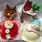 不二家 - 料理写真:ここぞとばかりにクリスマス限定ケーキ