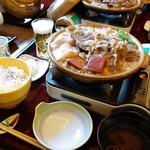 京料理 宮前 - 陶板膳