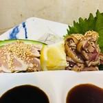 薩摩地鶏で おいしいとこドリ 一食二鳥造里