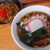 そば処 瓢箪 - 料理写真:かけそば(310円)+ミニカレー丼(230円)